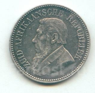 "ЮАР (Трансвааль) - 2 1/2 шиллинга ""Крюгер"" 1894 Серебро"
