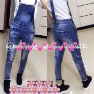 Комбинезоны джинсовые. 42, 44, 46