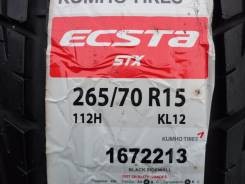 Kumho Ecsta STX KL12. Летние, 2014 год, без износа, 4 шт