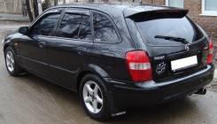Дефлекторы окон (ветровики) Mazda Familia 1997-2003 HB. Mazda Familia, BJ3P, BJ5P, BJFP B3ME, FSZE, ZLDE, ZLVE