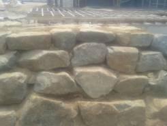 Декоративное укрепление откосов Природным Камнем, Валуном, МЕГО Габион