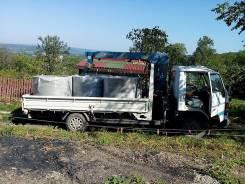 Перевозка, доставка грузов борт 3т 2на 4м кран 2т от 800р. ч