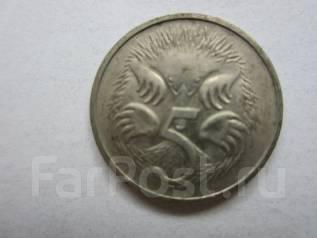 Австралия 5 центов 1981 года.