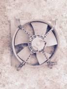 Вентилятор охлаждения радиатора. Chevrolet Lacetti