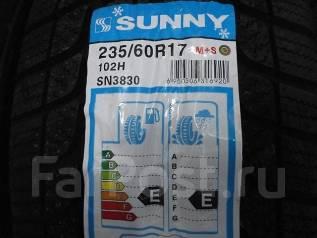 Sunny SN3830. Зимние, без шипов, 2014 год, без износа, 4 шт