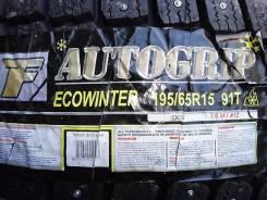 Autogrip Ecowinter. Зимние, шипованные, 2014 год, без износа, 1 шт