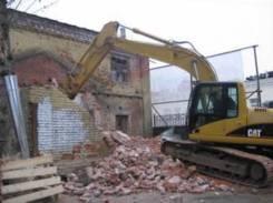 Снос, слом, демонтаж строений, сооружений, фундаментов и вывоз мусора