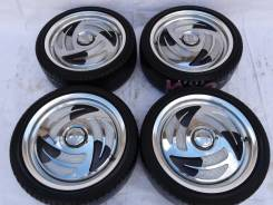Кованые стиляги Work на лете Bridgestone 215x40xR17. 7.0x17 4x100.00, 5x100.00 ET45 ЦО 60,0мм.