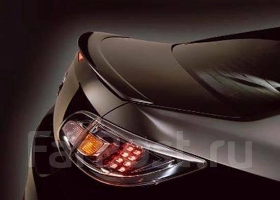 Накладка на спойлер. Mazda Atenza, GHEFW, GHEFP, GHEFS, GH5AS, GH5FP, GH5AW, GH5AP, GH5FS, GH5FW Двигатели: LFVD, LFVE, L5VE