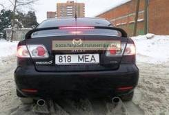 Спойлер. Mazda Atenza, GG3S, GGEP, GG3P, GYEW, GGES, GY3W Двигатели: L3VE, LFVE, L3VDT, LFDE