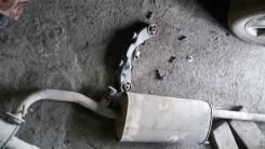 Выхлопная труба. Toyota Highlander, GSU45 Двигатель 2GRFE