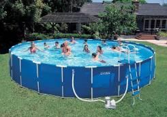 Наборы для чистки бассейна.