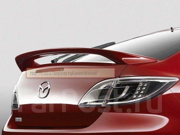 Спойлер. Mazda Atenza