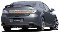 Спойлер. Mazda Atenza, GHEFW, GHEFP, GHEFS, GH5AS, GH5AW, GH5FP, GH5AP, GH5FS, GH5FW Двигатели: LFVD, LFVE, L5VE