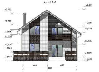 Проектирование домов, коттеджей, объектов - Индивидуально