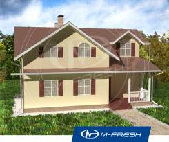 M-fresh Florida (Посмотрите этот проект небольшого дома! ). 100-200 кв. м., 2 этажа, 7 комнат, дерево
