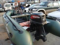 Tohatsu. 40,00л.с., 2х тактный, бензин, Год: 2011 год