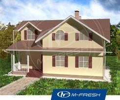 M-fresh Florida-зеркальный (Мансардный этаж, гардероб, котельная). 100-200 кв. м., 2 этажа, 7 комнат, дерево