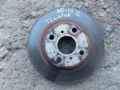 Диск тормозной. Toyota Sprinter Carib, AE111G, AE111