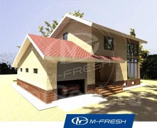 M-fresh White chocolate-зеркальный. 300-400 кв. м., 2 этажа, 5 комнат, кирпич