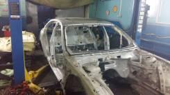 Передняя часть автомобиля. BMW 7-Series, E66