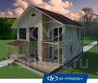 M-fresh Sweet life-зеркальный. 200-300 кв. м., 2 этажа, 4 комнаты, бетон