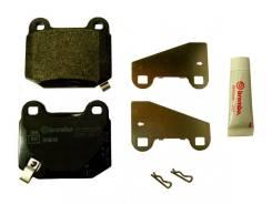 Колодки тормозные задние Subaru OEM 26696FG000