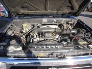 Двигатель в сборе. Toyota Hilux Surf, VZN130G, LN130G, LN130W, KZN130G, KZN130W Двигатель 1KZTE
