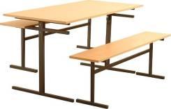 Мебель на металлокаркасе. Лавки, банкетки, скамейки.