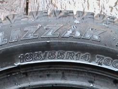 Bridgestone Blizzak MZ-02. Всесезонные, износ: 30%, 2 шт