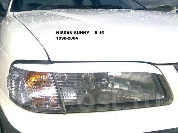 Накладка на фару. Nissan Sunny, B15