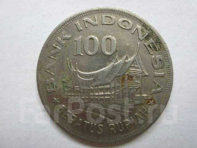 Индонезия 100 рупий 1978 альбом для погодовки монет 1921