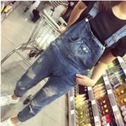 Комбинезоны джинсовые. 46, 48, 50, 52, 54. Под заказ