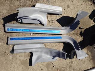 Накладка на порог. Subaru Forester, SG5, SG9, SG9L