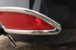 Накладки на задние катафоты Camry 50 2014+. Toyota Camry, ACV51, ASV50, AVV50, ASV51, GSV50