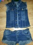 Комбинезоны джинсовые. 40