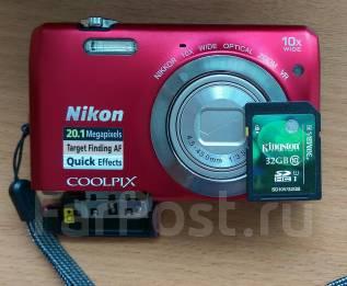 Nikon Coolpix. 20 и более Мп, зум: 10х