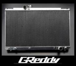 Радиатор охлаждения двигателя. Mitsubishi Lancer Mitsubishi Lancer Evolution, CT9A, CT9W Двигатель 4G63