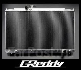 Радиатор охлаждения двигателя. Mitsubishi Lancer Evolution, CT9W, CT9A Mitsubishi Lancer Двигатель 4G63