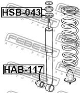 Втулка. Honda Accord, E-CE1, E-CD3, E-CD4, E-CD8, E-CD7, E-CF2, E-CD6, E-CD5 Honda Accord Aerodeck Honda Prelude, E-BB8, E-BB6, GF-BB5, E-BB1, E-BA9...