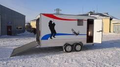 Мзса. Прицеп автодом + перевозка техники в Сургуте. Под заказ