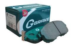 Колодки тормозные G-brake GP-03141 + Замена Бесплатно. 3-рабочая. Mazda Atenza Sport, GHEFW, GH5FW, GY3W, GYEW, GH5AW Mazda Atenza, GGES, GG3S, GG3P...