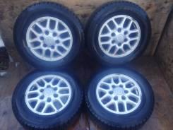 Отличные колеса стояли на Nissan Elgrand AVWE50. 6.0x15 6x139.70 ET35