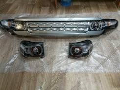 Решетка на фары. Toyota FJ Cruiser, GSJ10, GSJ15W, GSJ15 Двигатель 1GRFE