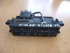 Блок управления климат-контролем. Nissan Silvia, KPS13 Двигатель SR20D
