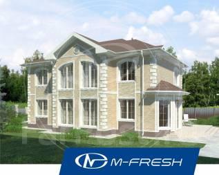 M-fresh Extra Classsss! -зеркальный (Проект дом в классическом стиле! ). 400-500 кв. м., 2 этажа, 6 комнат, бетон