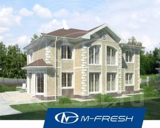 M-fresh Extra Classsss! (Проект большого просторного дома! Посмотрите). 400-500 кв. м., 2 этажа, 6 комнат, бетон