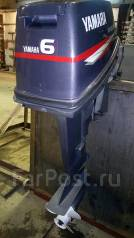 Yamaha. 6,00л.с., 2х тактный, бензин, нога S (381 мм), Год: 1999 год