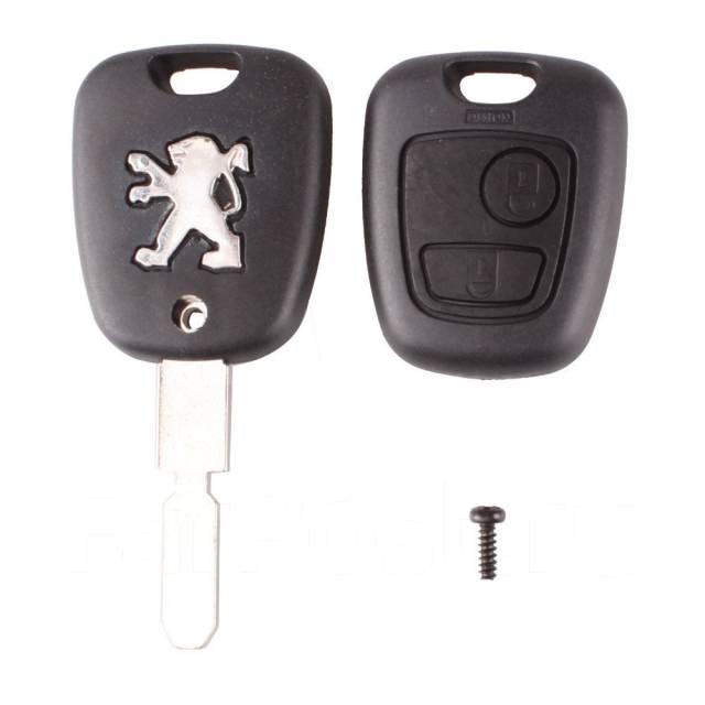 Заготовка ключа. Peugeot 407