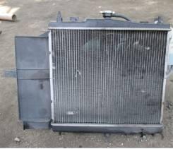 Радиатор охлаждения двигателя. Nissan Cube, NZ12, Z12 Nissan March, YK12, BNK12, BK12, AK12, Z12, K12 Nissan Note, ZE11, E11, NE11 Двигатели: CR14DE...